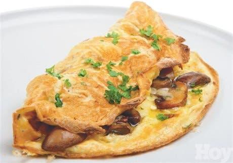 """¿A qué llama usted """"tortilla""""?<BR>Omelette. Es el nombre en francés que recibe esta sabrosa tortilla"""