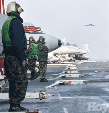 <P>Surcoreanos y norcoreanos ensayan guerra</P>