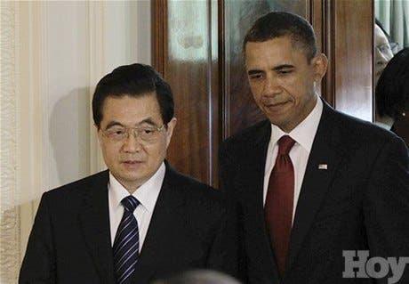 Hu- EE.UU. y China acuerdan colaborar para superar «desacuerdos» económicos