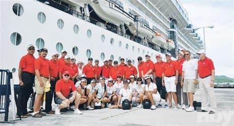 Una divertida experiencia de golf por islas del Caribe en crucero