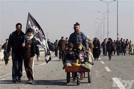Bombas matan a 35 peregrinos en Irak