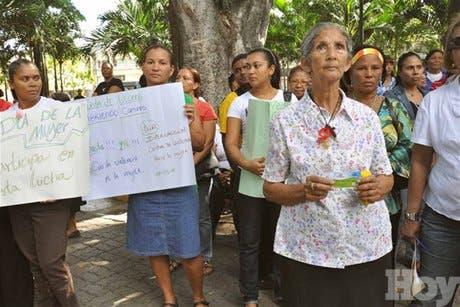 Mujeres exigen erradicar marginalidad de la población