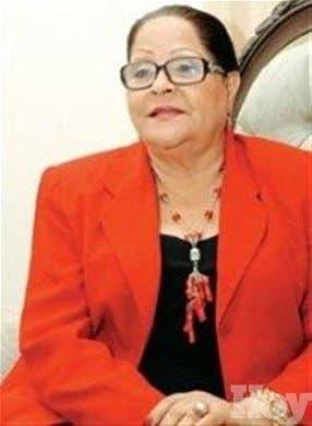 Flavia García saluda escogencia de mujeres en tribunales superiores