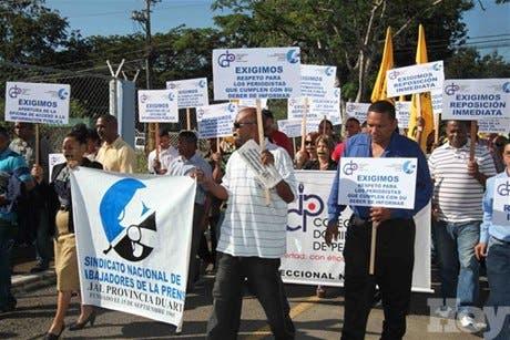 Trabajadores prensa y CDP protestarán frente a regional Salud Pública en SFM
