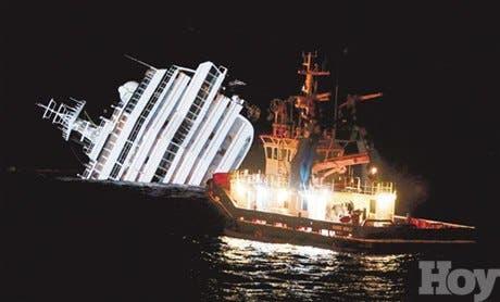Hay 29 desaparecidos naufragio