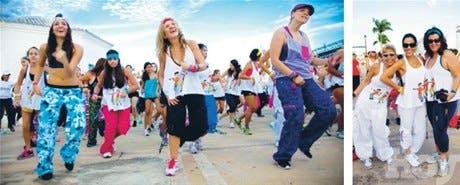 Primer maratón benéfico de zumba en CC