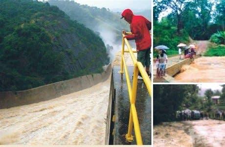 <P>2 muertos por fuertes aguaceros</P>