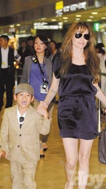 Angelina Jolie podría perder custodia de su hijo adoptivo Pax