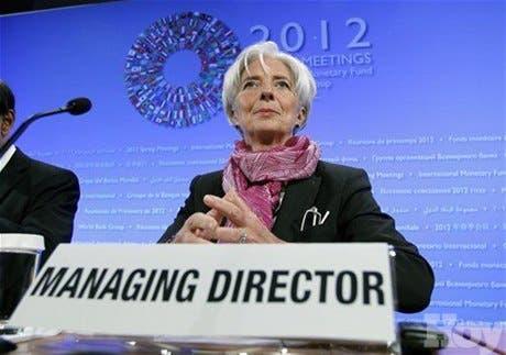 Jefa del FMI pide reducir gradualmente el gasto público