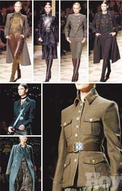 La chaqueta militar, una prenda que sigue de moda