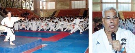 Cientos de niños y jóvenes participan en seminario capacitación de karate