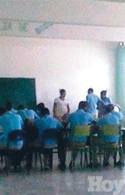 Estudiantes Neiba exigen desocupar aulas del liceo