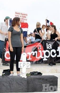 <P>Grupos sociales se manifiestarán contra corrupción</P>