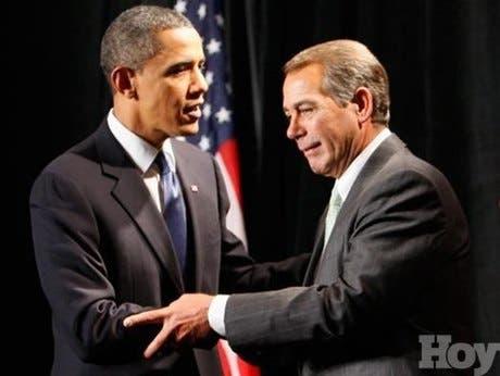 """<STRONG>Dilema entre republicanos y demócratas: aumentar los impuestos a los más ricos o arriesgarse a que EUA caiga en """"precipicio fiscal""""</STRONG>"""