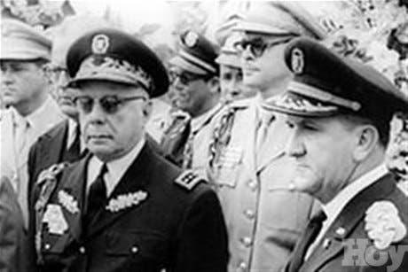 <P>Represión policial ¿herencia de la dictadura de Trujillo?</P>