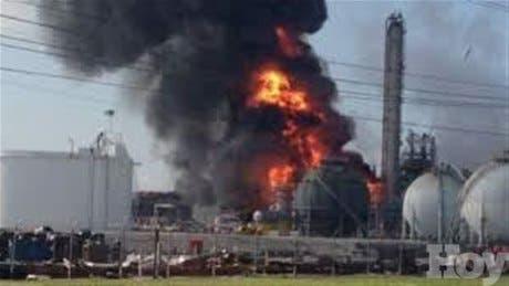 EE.UU.: explosión en planta de químicos en Luisiana