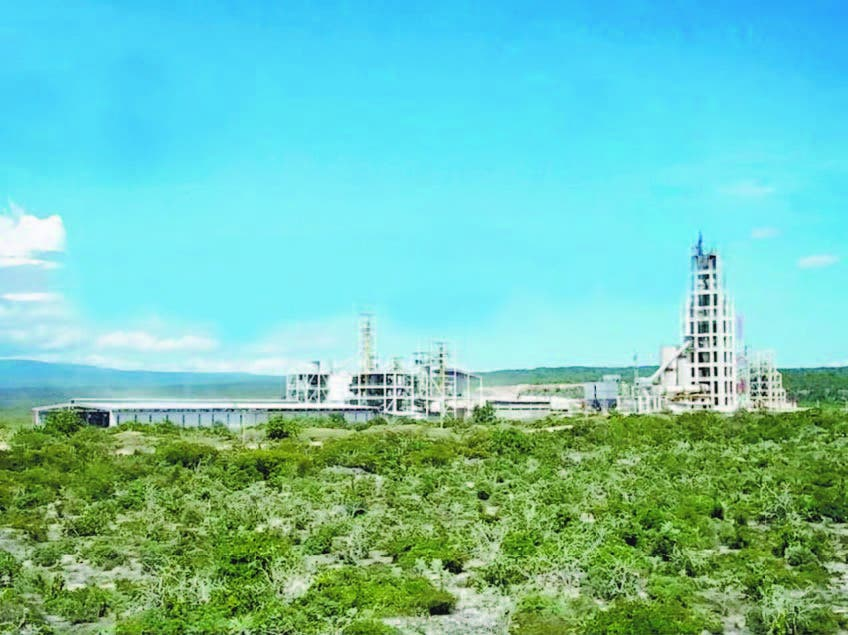 Resultado de imagen para fotos de instalaciones de cementos andino en Cabo Rojo Pedernales