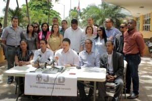 Jóvenes del PRD están avergonzados por actitud del ministro de la Juventud