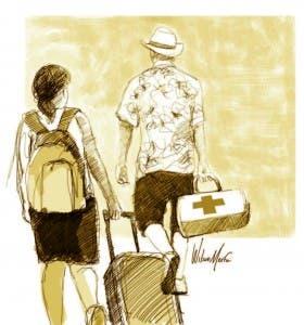 La medicina de viajero es una especialidad que se ha desarrollado tanto en Estados Unidos como en Europa
