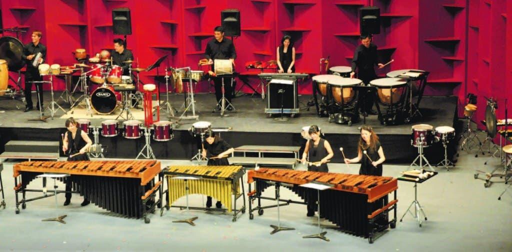 Percusionistas de Taiwan en el TN