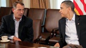 Republicanos ofrecen a Obama acuerdo temporal sobre techo de deuda