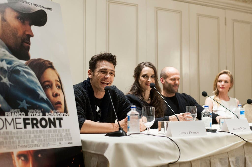"""""""Homefront"""" - Los Angeles Press Conference And Photo Call"""