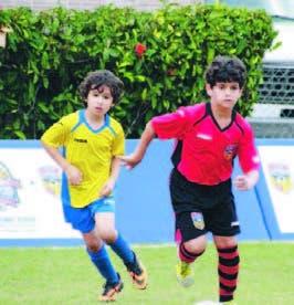 Acción en el torneo