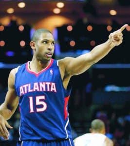 Al Horford contribuyó con el triunfo de los Hawks sobre los Knicks