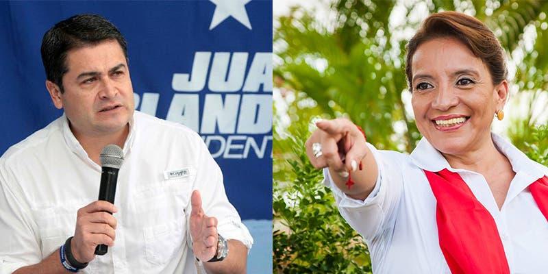 Ambos candidatos se proclaman ganadores.