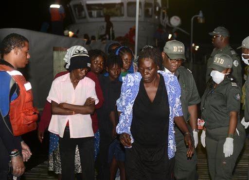Bahamas Haitian Migrants