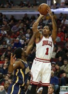 Bulls vencen a Pacers; se acaban los invictoS