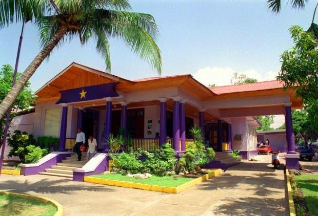 Casa Presidencial del PLD.