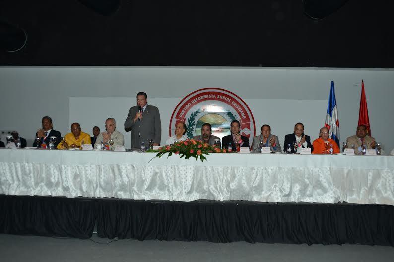 Comision Ejecutiva del PRSC. Fuente externa.