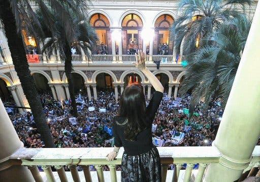 Cristina Kirchner1. Foto AFP