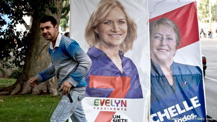 La exmandataria Michelle Bachelet lidera las encuestas, con una adhesión de 47 por ciento