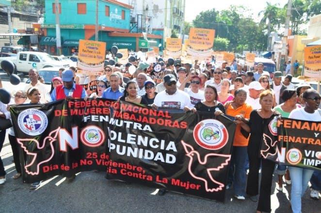 El 25 de Nociembre en el país suelen hacerse varias marchas contra la violencia hacia las mujeres.