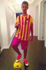 El juvenil Diego Llorente