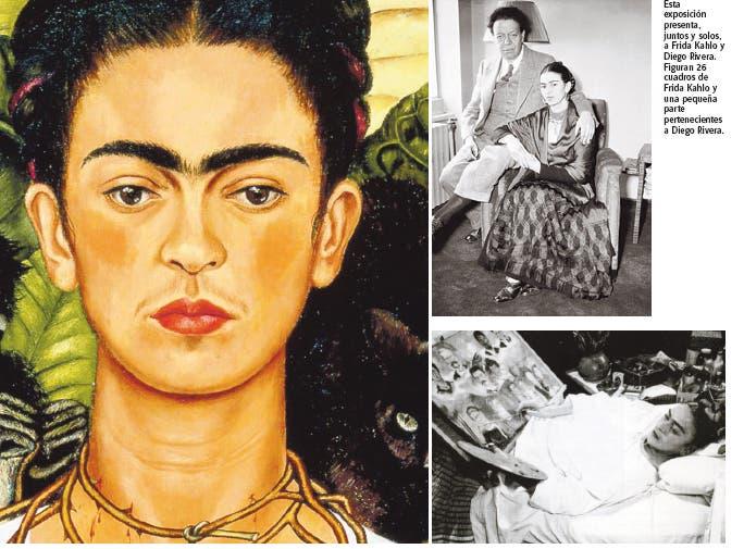 Frida Kahlo y Diego Rivera, el arte en fusión
