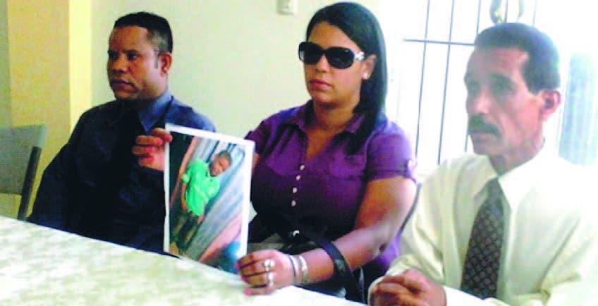 Francisca López, tía de Kendry Rodríguez,  habló en nombre de los familiares