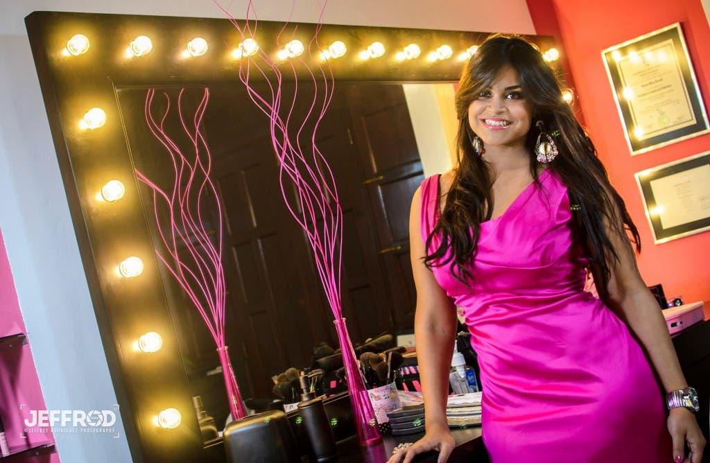 Anamía Abreu, una talentosa y emprendedora joven dominicana.
