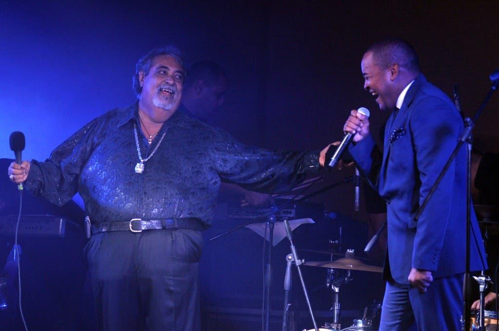 Anthony Ríos  y Wason Brazobán deleitaron durante dos noches. FUENTE EXTERNA