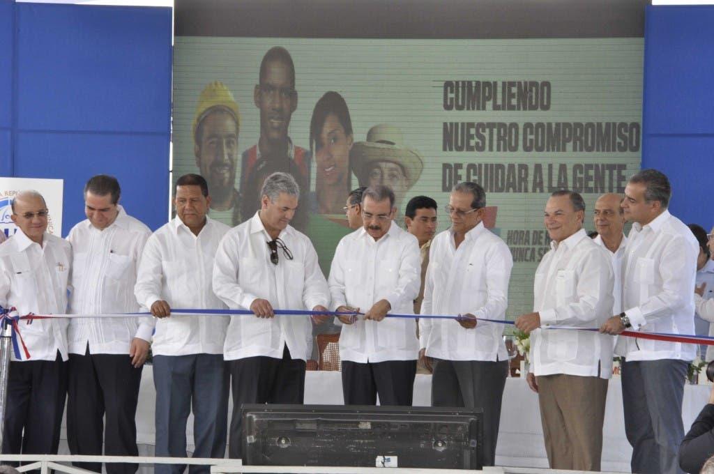 """El acto se realizó en la zona conocida como """"Cruce de Coco Loco"""", en Bávaro, Punta Cana. Pablo Matos"""