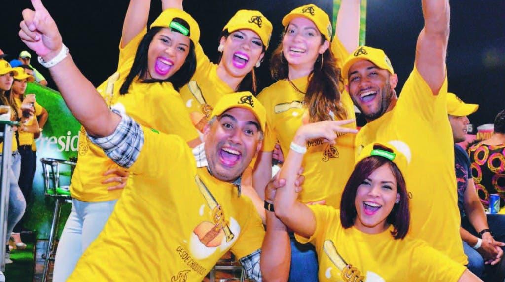 Las personalidades de la televisión dominicana que apoyan a las Aguilas Cibaeñas