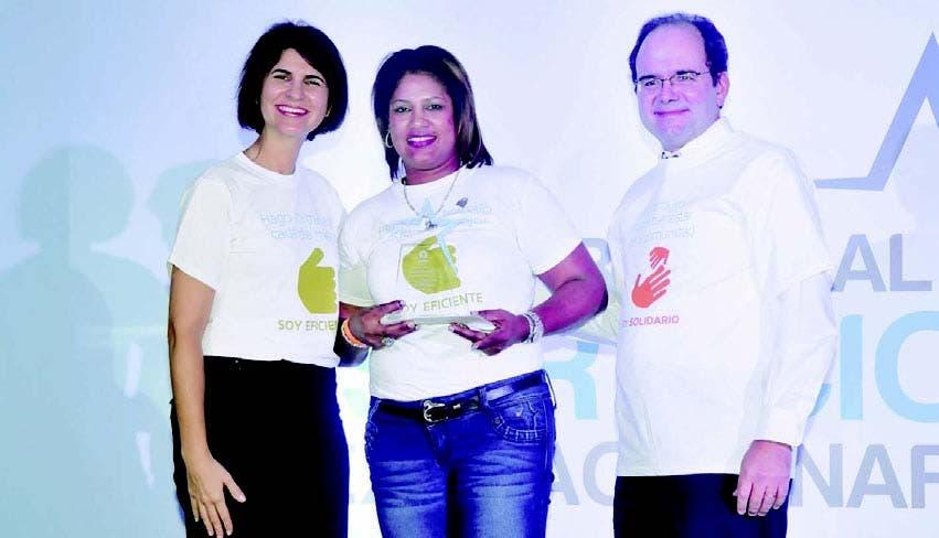 Mercedes Ramos, Altagracia Santana y José Ángel Rodríguez