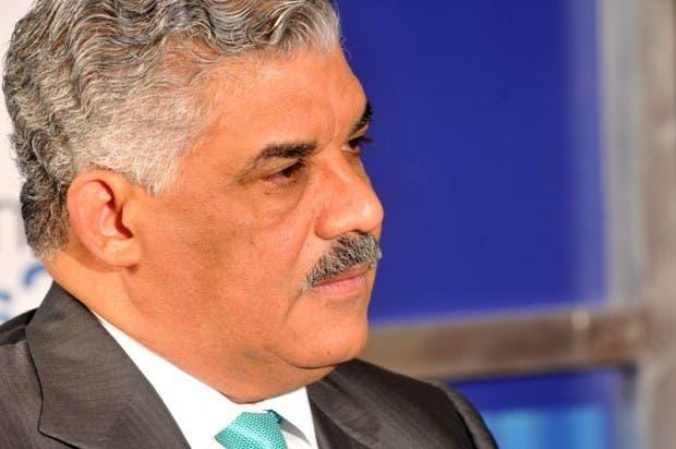 Miguel Vargas Maldonado, presidente del PRD. Fuente externa.