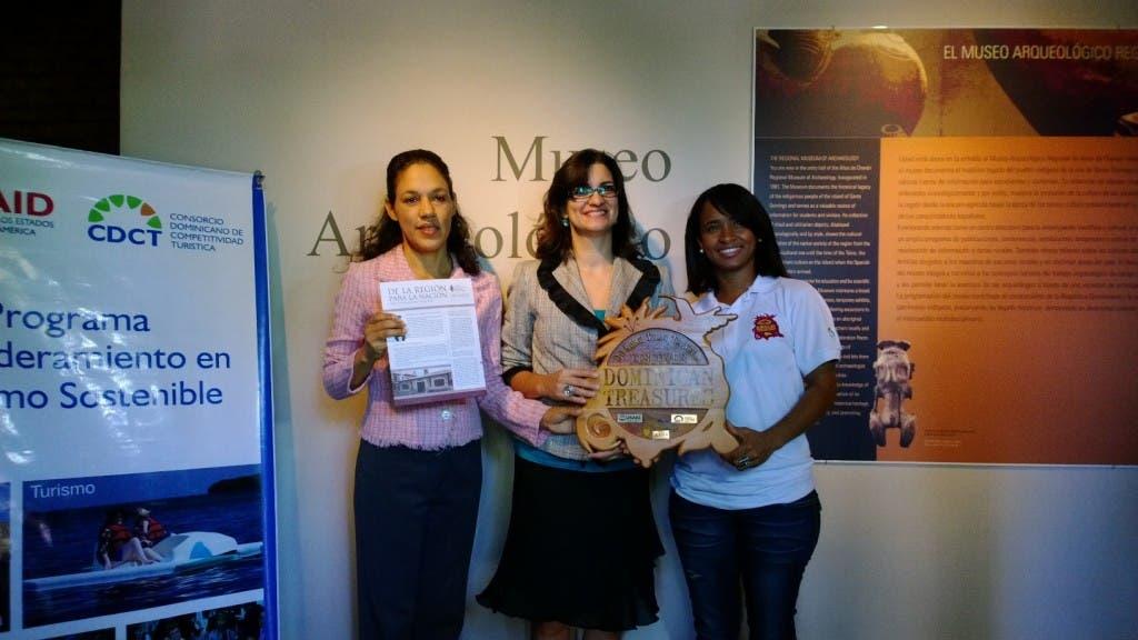 Museo Arqueológico Regional Altos de Chavón recibe su certificación como un Dominican Treasures