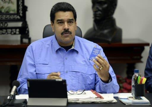 Presidente de Venezuela, Nicolas Maduro. FOTO/JUAN BARRETO.
