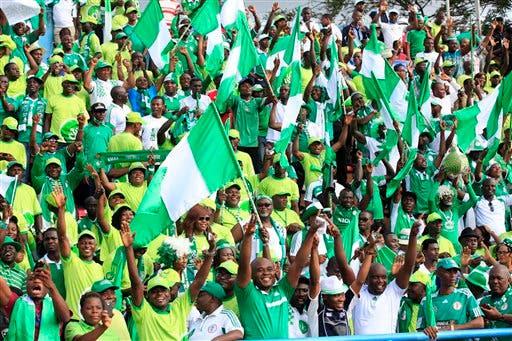 Nigeria Ethiopia Wcup Soccer