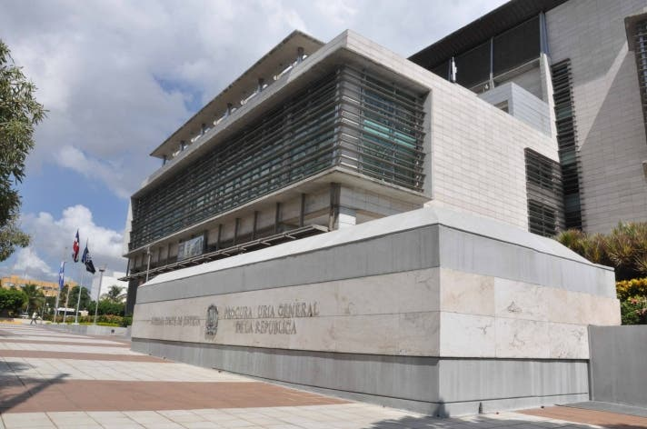 Fachada de la Procuraduría General de la  República. Foto Pedro Sosa.