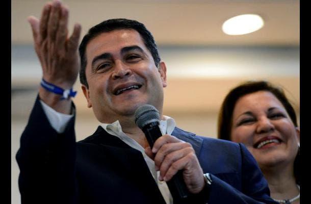 Presidente electo de Honduras Juan Orlando Hernández